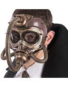 Masques rétro design steampunk