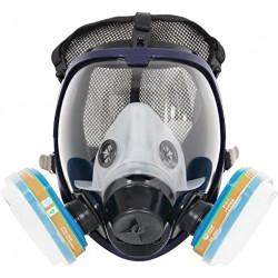Masque à gaz coloré enfant