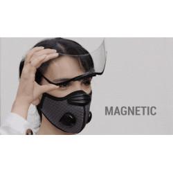 Masque visière amovible